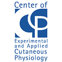 Depiction of the logo of the Center of Experimental and Applied Cutaneous Physiology (CCP)